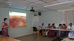 Conférence de Christine Coulange au conseil départemental (Mamoudzou, Mayotte)