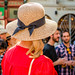 The lady with the straw hat by RuudMorijn-NL