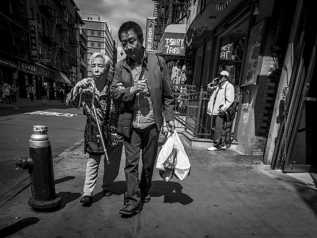 STREET LIFE in Chinatown - stranger No. 8