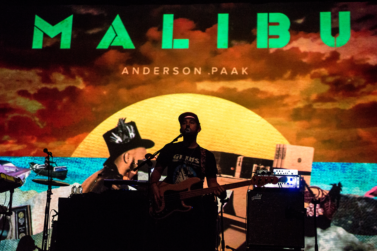 Anderson .Paak & The Free Nationals @ AB Brussel 2017 (Jan Van den Bulck)