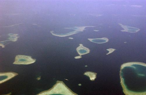 Aftermath of Indian Ocean Tsunami in Maldives