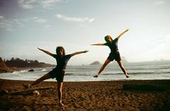 Twins on a Beach