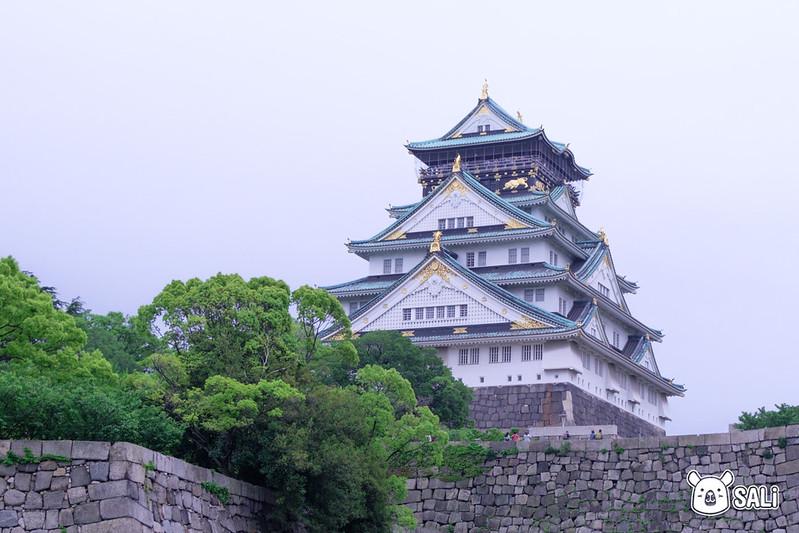 第三天大阪城