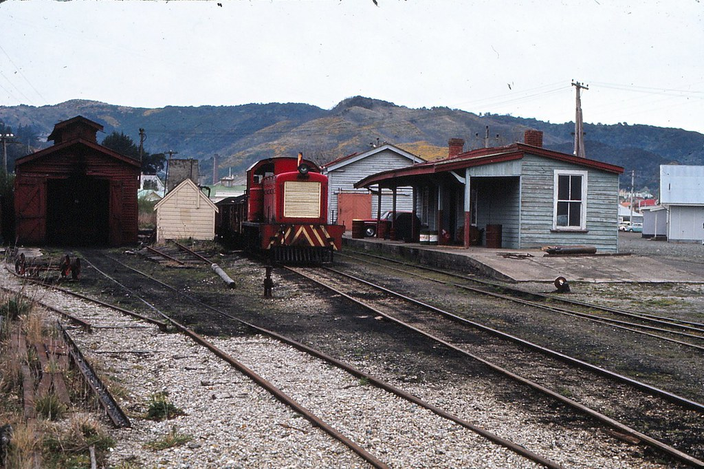 Diesel replacement at Kaitangata 1967 or 1968