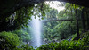 Crystal Shower Falls panorama