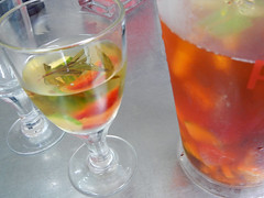 Pims Cup, the perfect drink for an early summer day