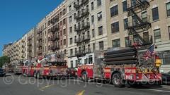 FDNY Fire Trucks, Hamilton Heights, New York City