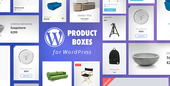 Product Boxes WordPress Plugin free download