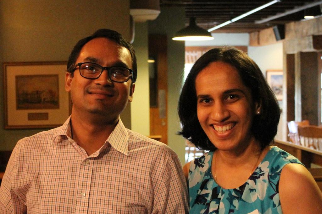 Dr. Thirukumaran and guest