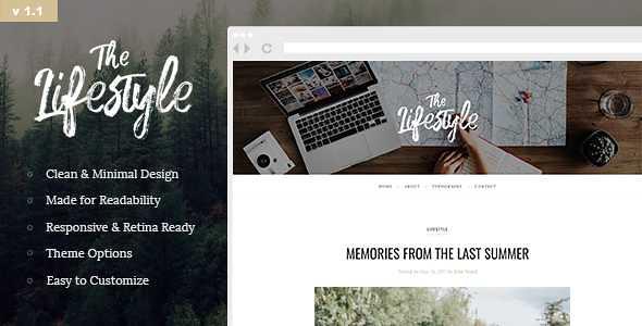 Lifestyle WordPress Theme free download