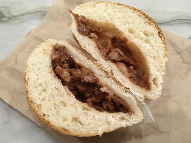Baked bbq pork bun - Tung Sing Restaurant
