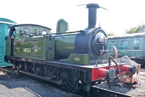 69023 'British Railways' 0-6-0T shunter Class J72 'Joem' on 'Dennis Basford's railsroadsrunways.blogspot.co.uk'