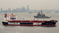 Stena Penguin Crude Oil Tanker (2010), Fort Wadsworth, New York City