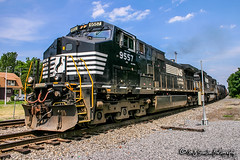 NS 9557 | GE C40-9W | NS Memphis District
