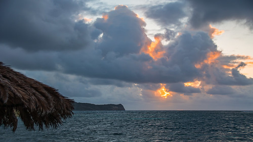 westindies caribbean antigua stjamessclub sunrise seaside sea atmospheric sky clouds