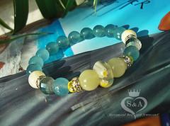 Gentle Ladies Bracelet Nympha Gemstone Stone Bead Agate Yoga Onyx White Red Aqua Elastic Mens Womens Gifts Mother Gift Girl