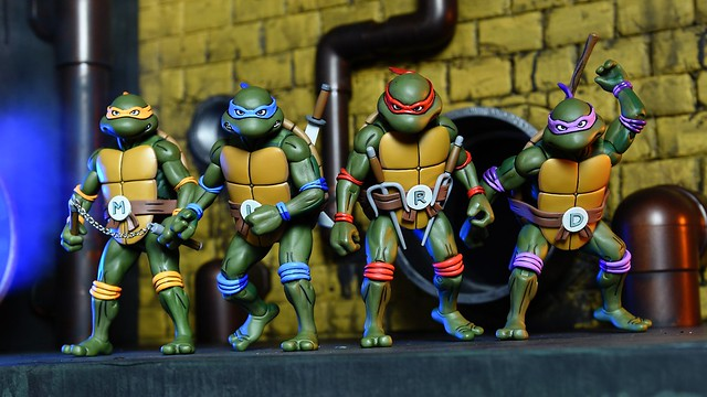 2017 SDCC 限定!!超豪華的NECA 【忍者龜組合包】Ninja Turtles Exclusive Set