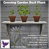 [ free bird ] Growing Garden Basil Plant Ad