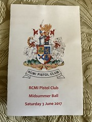RCMI Pistol Club 2017 Midsummer Ball