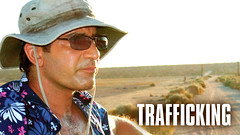 Randy Cohlmia as Mario, the American journalist's guide in the dangerous cartel ridden desert where they are investigating the areas child-trafficking problem