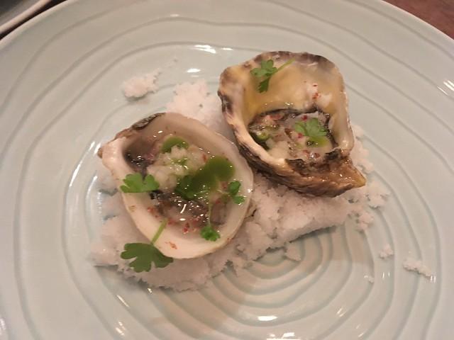 Kusshi oysters - Petit Crenn