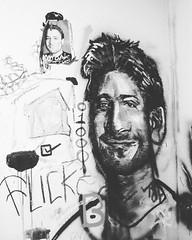 Stewart Butterfield #flickrcofounder #catarinafake #greatness #mural #bw #art #scottbradleyferguson #esopure #rotting #wallart @davidchoe #esoroticteam #esoroticmagazine #zeroones #slack #time #b #more