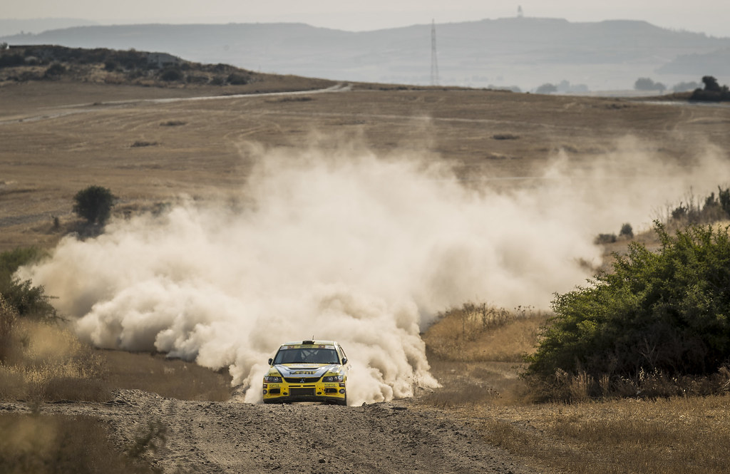 14 DEMOSTHENOUS Christos (cyp) and LAOS Pambos (cyp) PETROLINA - ENI RACING TEAM LANCER EVO IX action during the 2017 European Rally Championship ERC Cyprus Rally,  from june 16 to 18  at Nicosie, Cyprus - Photo Gregory Lenormand / DPPI