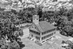 Midway Congregational Church B&W_DJI_0032