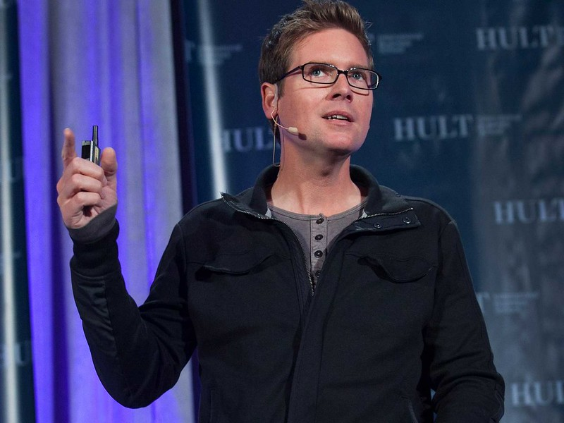 Biz Stone, one of the co-founders of Twitter