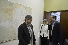 Visita da embaixada Francesa