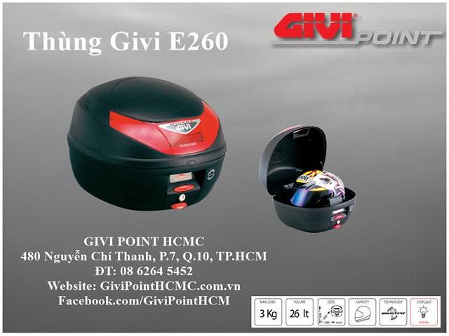Thung xe Givi - 5