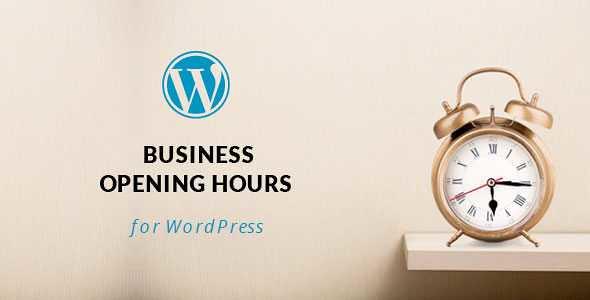 Opening Hours WordPress Plugin free download