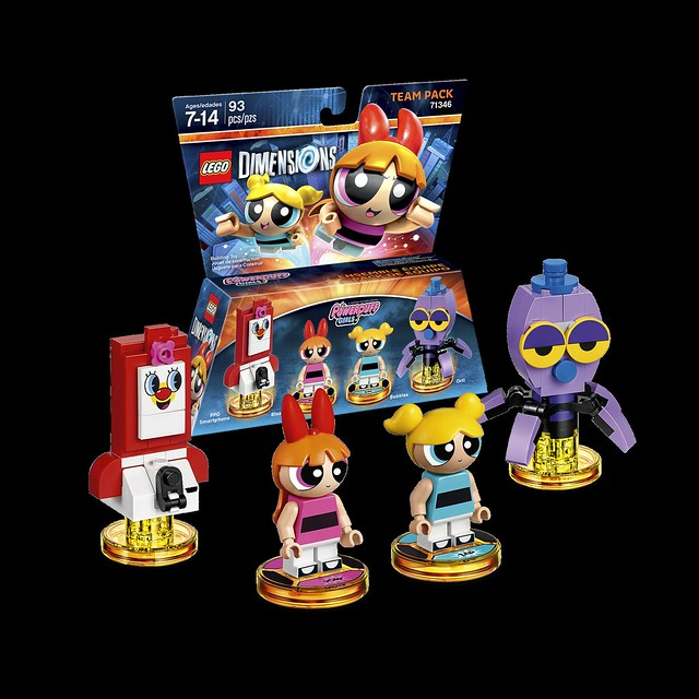 71346 The Powerpuff Girls Team Pack