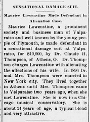 1900 - Moe Lowenstine lawsuit - Marshall County Independent - 18 May 1900