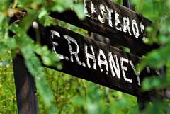 20170611 Panorama Estates E. R. Haney Resident Sign