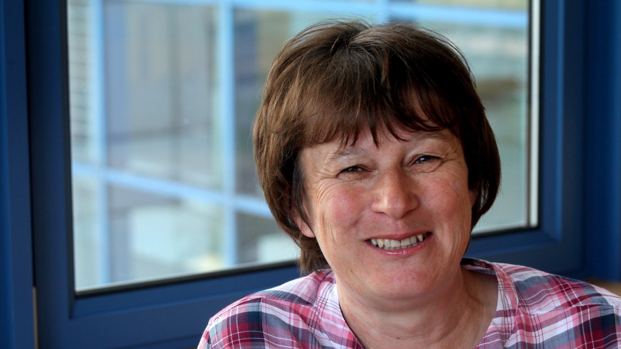 Professor Doreen Cantrell smiling