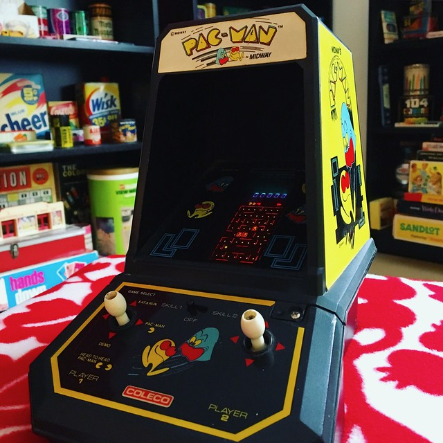 Coleco Tabletop Pac-Man (1981)