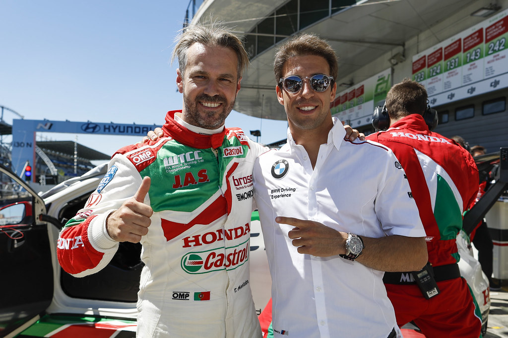 MONTEIRO Tiago (prt), Honda Civic team Castrol Honda WTC, and DA COSTA Antonio Felix, GT3 driver during the 2017 FIA WTCC World Touring Car Race of Nurburgring, Germany from May 26 to 28 - Photo Florent Gooden / DPPI