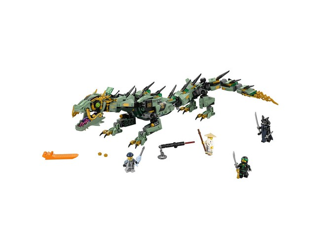 70612 Green Ninja Mech Dragon 3