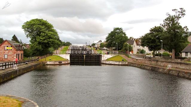 Muirtown Locks. Inverness