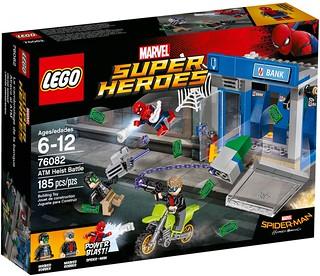 「新增官圖&販售資訊!」LEGO 76082、76083 漫威超級英雄系列 蜘蛛人:返校日 Spider-Man: Homecoming