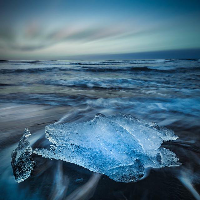 blue ice evening, Canon EOS 5D MARK II, Canon EF 17-40mm f/4L