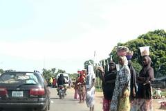 Hausa/Fulani Girls, Roadside Hawking, Keffi, Nasarawa State, Nigeria. #JujuFilms