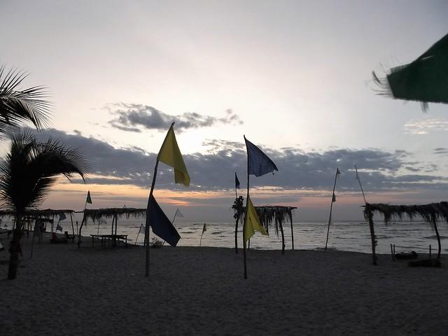 Drapeaux de plage Beach, Fujifilm FinePix JX700