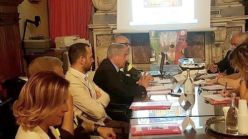 Presentazione 24° Raduno associazione Nazionale Vigili del Fuoco
