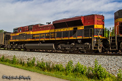 KCSM 4098 | EMD SD70ACe | NS Memphis District