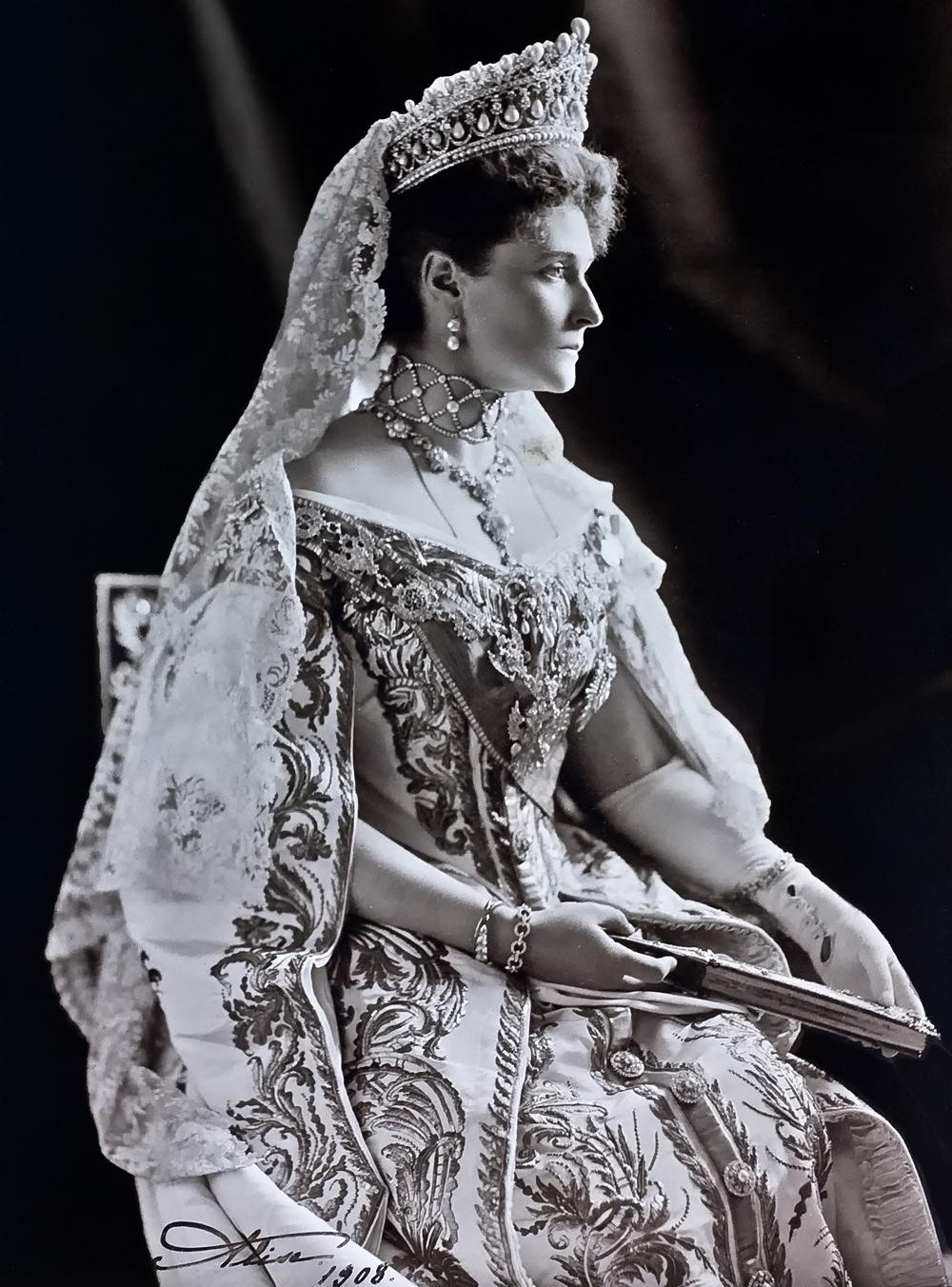 The last Russian Empress Alexandra Feodorovna, spouse of Nicholas II
