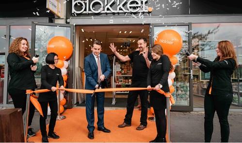 Ballonpilaar Breed Rond Opening Blokker