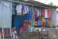Une boutique à Mamoudzou (Mayotte)
