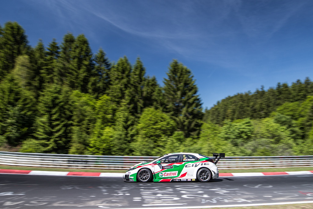 05 MICHELISZ Norbert (hun), Honda Civic team Castrol Honda WTC, action during the 2017 FIA WTCC World Touring Car Race of Nurburgring, Germany from May 26 to 28 - Photo Antonin Vincent / DPPI